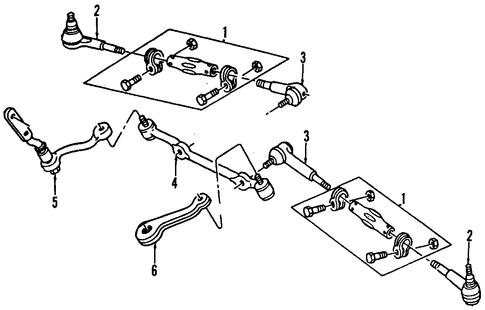 oem 1999 gmc sonoma p s pump hoses parts. Black Bedroom Furniture Sets. Home Design Ideas