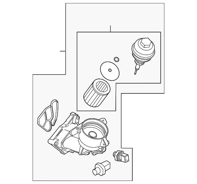 oil filter housing