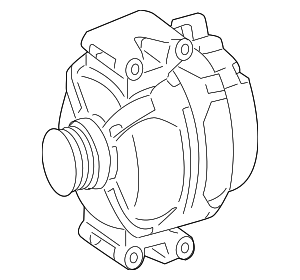 Alternator - Mercedes-Benz (013-154-06-02-87)