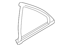 Fixed Glass Seal - Mercedes-Benz (2027350224)
