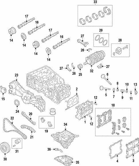 engine for 2014 subaru xv crosstrek