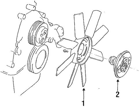 1993 Ford Ranger Cooling System Diagram