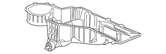 19992002 GM Evaporator Case 52474945 Courtesychevroletparts. Evaporator Case Gm 52474945. GMC. 2001 GMC Yukon Evaporator Diagram At Scoala.co