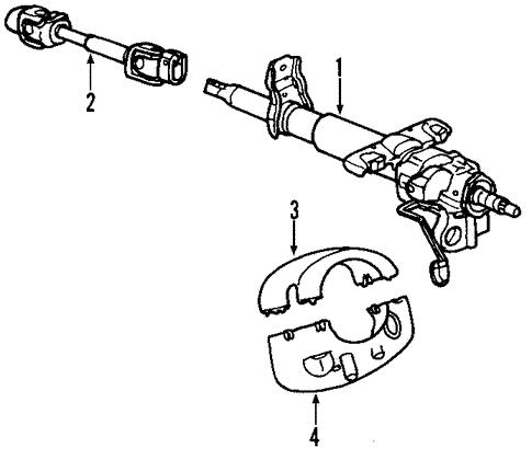Steering Column For 2006 Pontiac Solstice