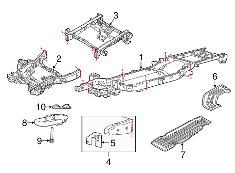 Body/Frame & Components for 2013 Ford F-150 #2