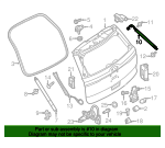 Lift Cylinder - Ford (FB5Z-78406A11-B)