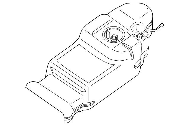 nissan fuel tank  17202