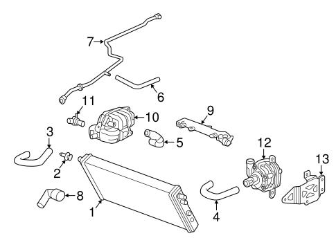 Oem 2015 Chevrolet Corvette Intercooler Parts