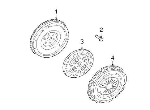 Oem 2000 Lincoln Ls Clutch Flywheel Parts