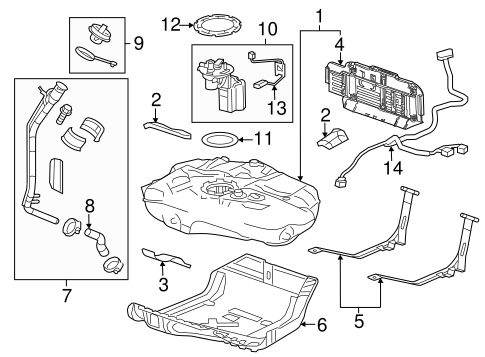 Buick Fuel System Diagram