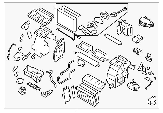 Ac Heater Assembly Subaru 72110fj091: 2014 Subaru Crosstrek Parts Diagram At Scrins.org