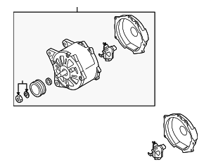 Alternator - Volkswagen (06F-903-023-P)