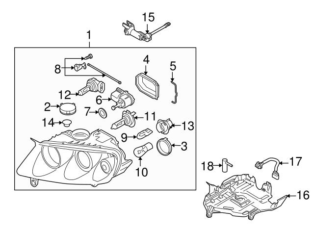 2004 2014 Volkswagen Adjust Motor Seal 443 941 323