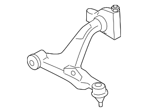 Lower Control Arm - Nissan (54501-6AV0A)