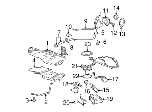 fuel system components for 2009 chevrolet cobalt. Black Bedroom Furniture Sets. Home Design Ideas