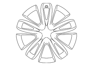 Wheel, Alloy - Lexus (42611-76130)
