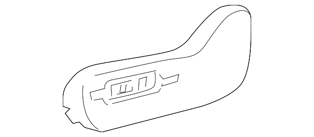 TOYOTA 71812-AA040-B1 Reclining Adjuster Cover