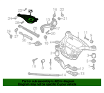 2004-2010 BMW X3 - Upper Control Arm - BMW (33-30-3-402-535)