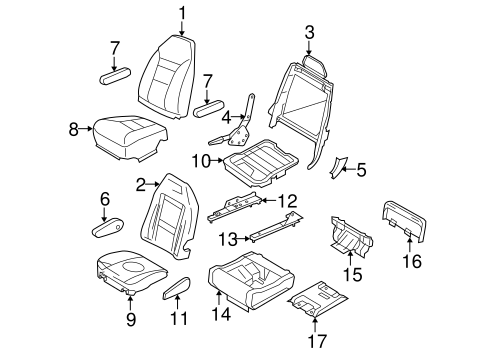 Body/Second Row Seats for 2012 Ford E-150 #2