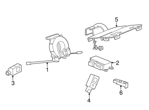 Air Bag Components for 2015 Chevrolet Malibu | GMPartsDirect com