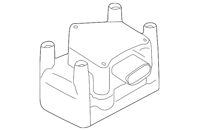 genuine volkswagen ignition coil 022