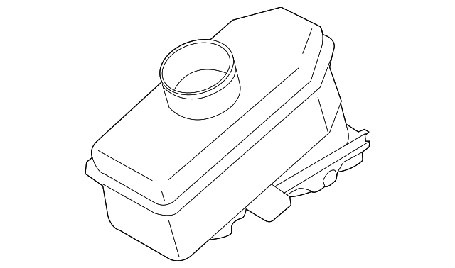 2007 2017 Infiniti Master Cylinder Reservoir 46091 Jk30a