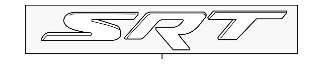 Dodge Charger Challenger Viper 300 Srt Srt8 Chrome Emblem