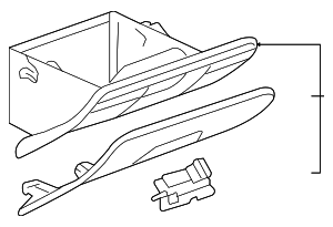 Glove Box Assembly - GM (20778487)