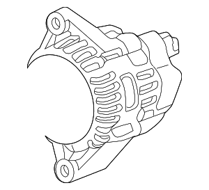 Alternator Assembly (AHGA77) (Mitsubishi) - Honda (31100-RB0-004)