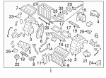 Heater Unit Assembly / VIN Required - Subaru (72110FJ311)
