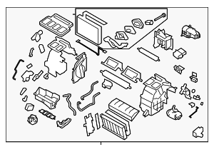 Heater Unit Assembly / VIN Required - Subaru (72110FJ310)