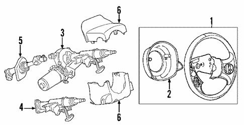 2006 Chevrolet Steering Diagram - Wiring Diagrams Load