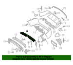 Center Mount - Mercedes-Benz (253-885-12-65)
