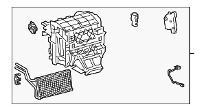 AC & Heater Assembly - Toyota (87050-33D10)