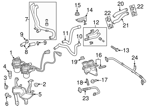 EMISSION SYSTEM/A.I.R. SYSTEM for 2010 Toyota Tundra #1