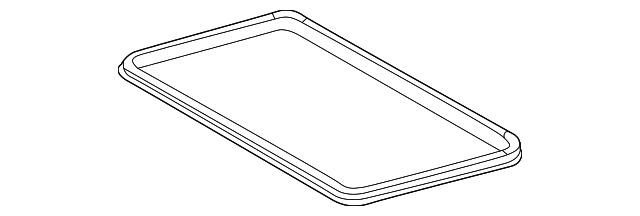 Genuine Mercedes-Benz Panel Seal 126-780-00-98