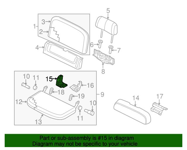 Hinge Extension Nissan 88441 Ea600 Tascaparts Com