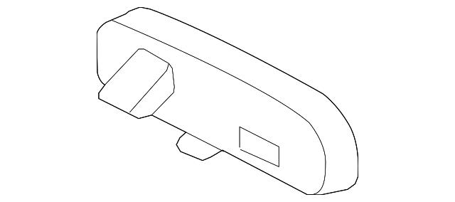 INNER REAR VIEW 87810-52041 8781052041 Genuine Toyota MIRROR ASSY