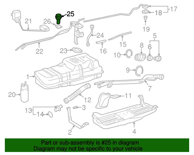 Check Valve Toyota 77390 35010 Toyota Parts