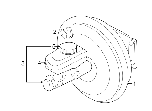 Hydraulic System For 2001 Dodge Durango