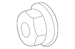 Pulley Nut - Mercedes-Benz (003-990-07-50)