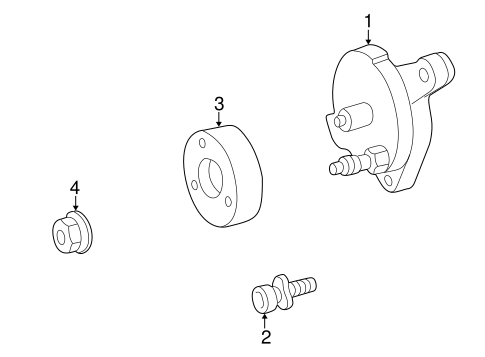Belts & Pulleys for 1997 Mercedes-Benz E 320 #0