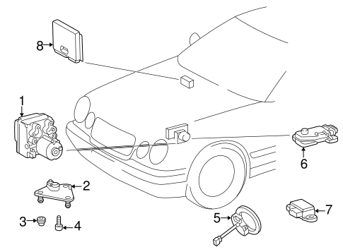 Mercedes Benz Acceleration Switch Assembly 0125420417 in addition Isuzu C240 Engine Parts Diagram besides Mercedes Secondary Air Injection System in addition Mazda Rx 8 Ac Diagram besides Fuse Box Location 03 Navigator. on fuse box mercedes c230