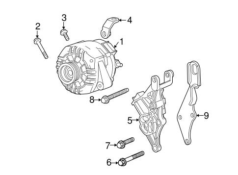 oem 2006 chevrolet uplander alternator parts