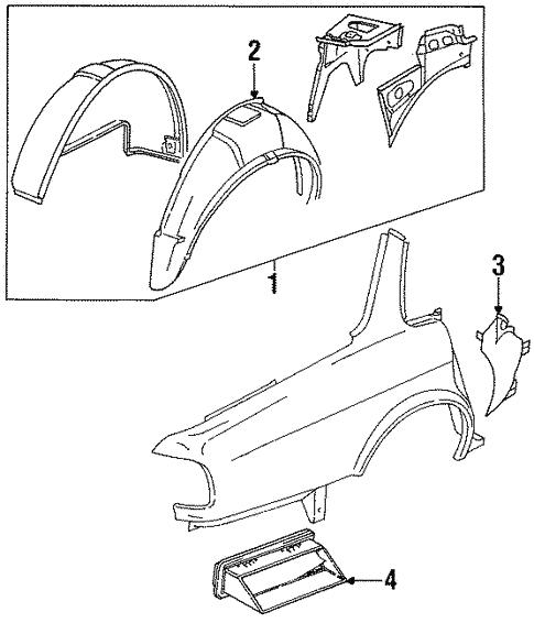 Inner Structure For 1996 Jaguar Xj6
