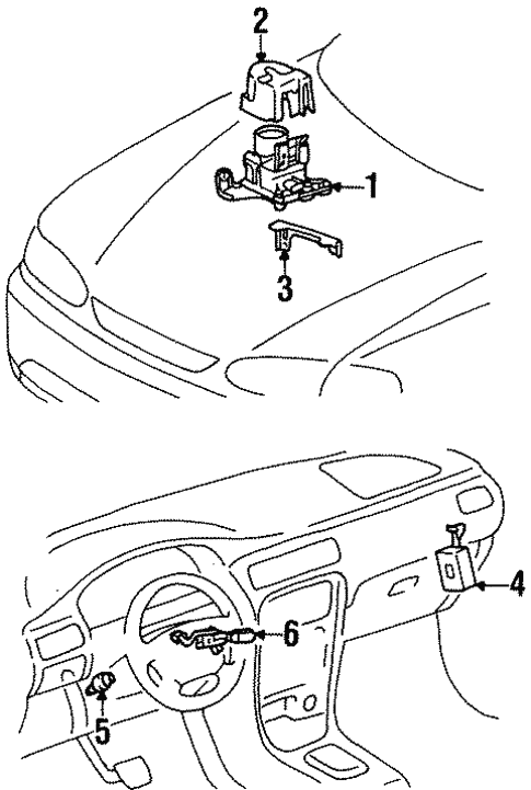 2001 Chevy Prizm Fuse Box Diagram