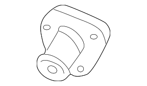 Thermostat Outlet - Nissan (21200-4W000)