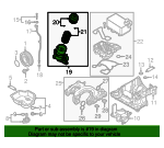 Oil Filter Housing - Volkswagen (059-115-389-P)
