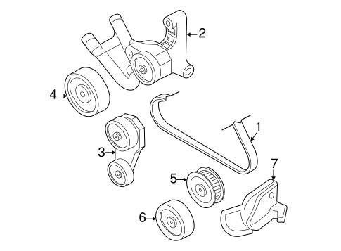 Oem 2000 Buick Regal Belts Pulleys Parts