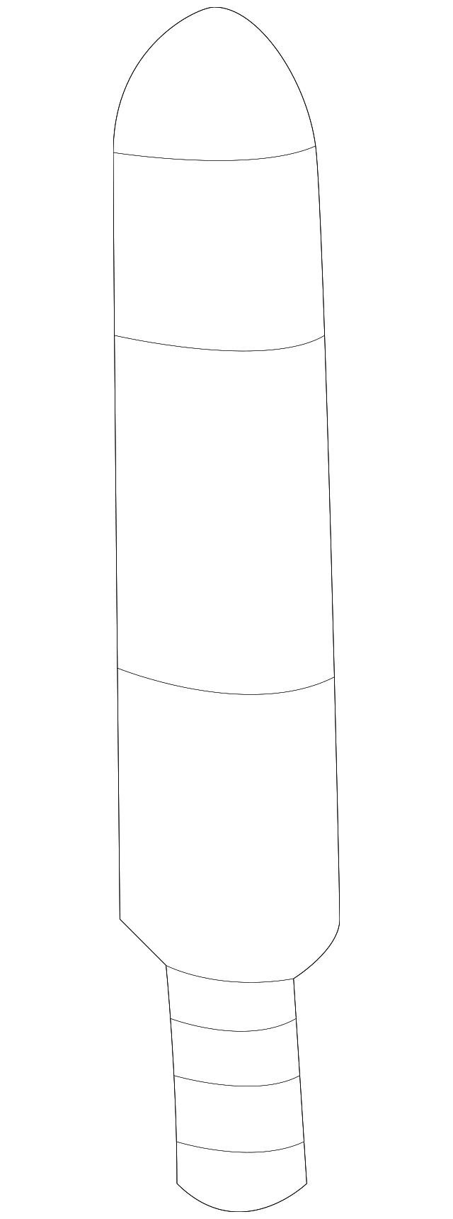 Genuine Ford Antenna Mast AC3Z-18813-A